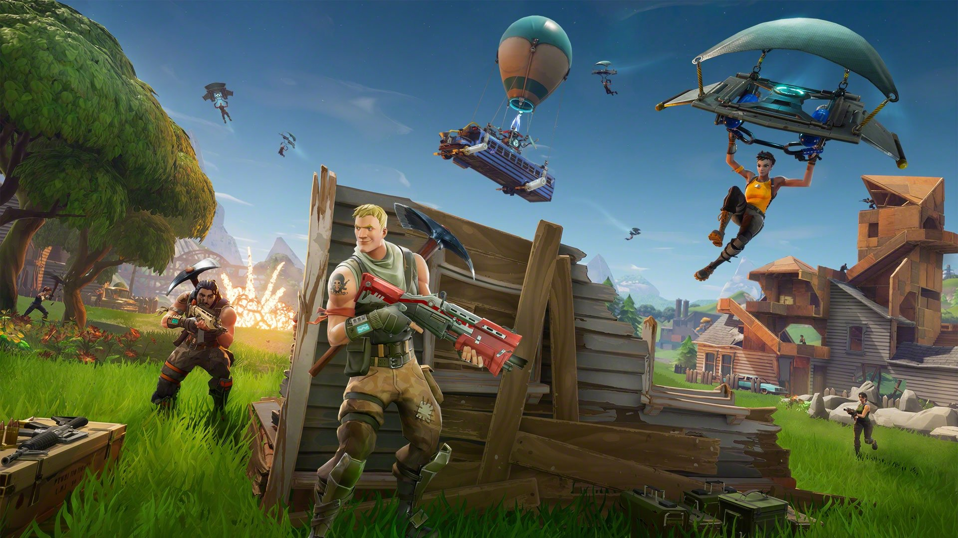 Fortnite Runs At 4k And 60 Fps On Ps5 And Xbox Series X Vgc