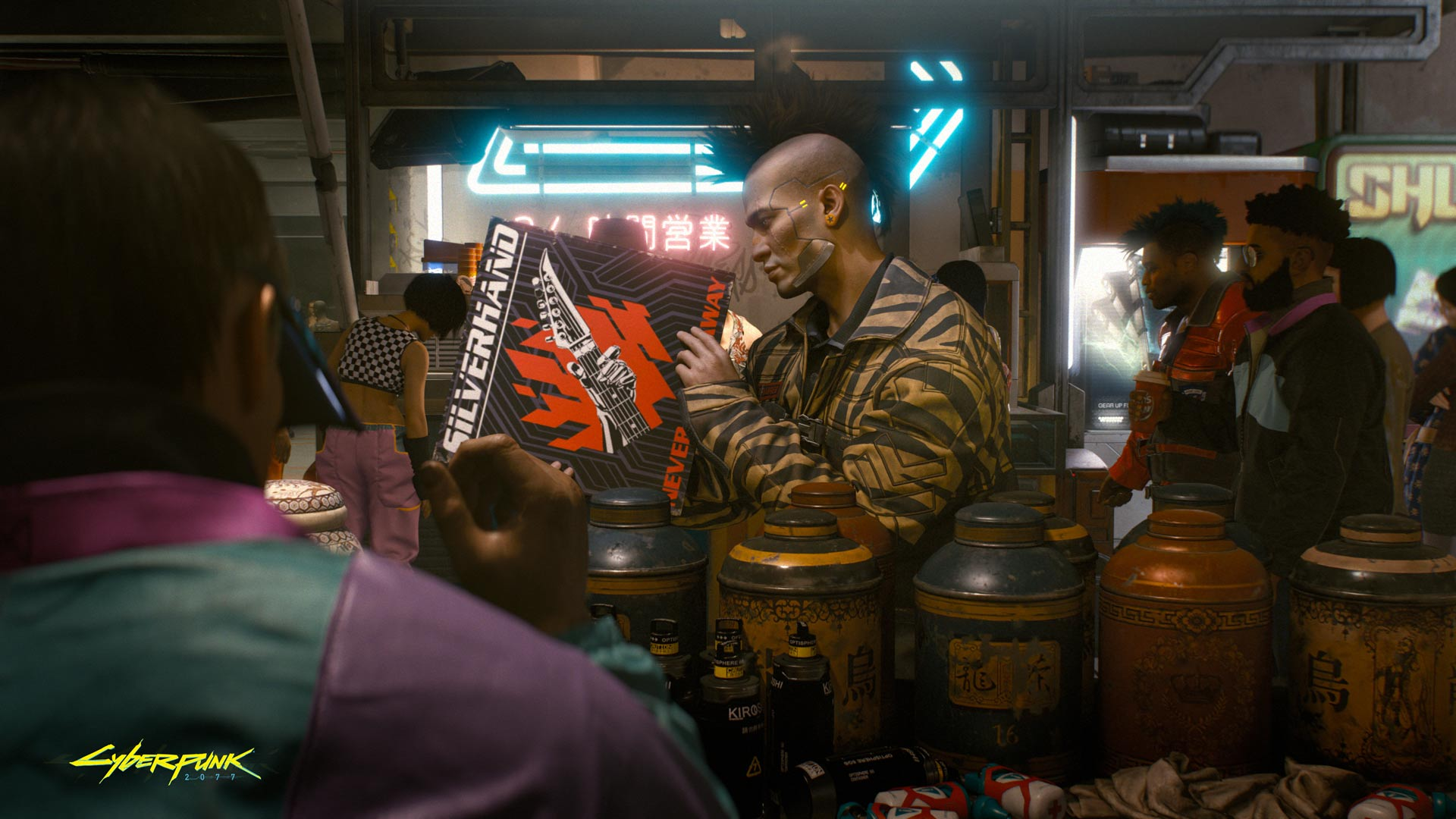 Cyberpunk 2077: Hefty and Inappropriate For Nintendo Switch