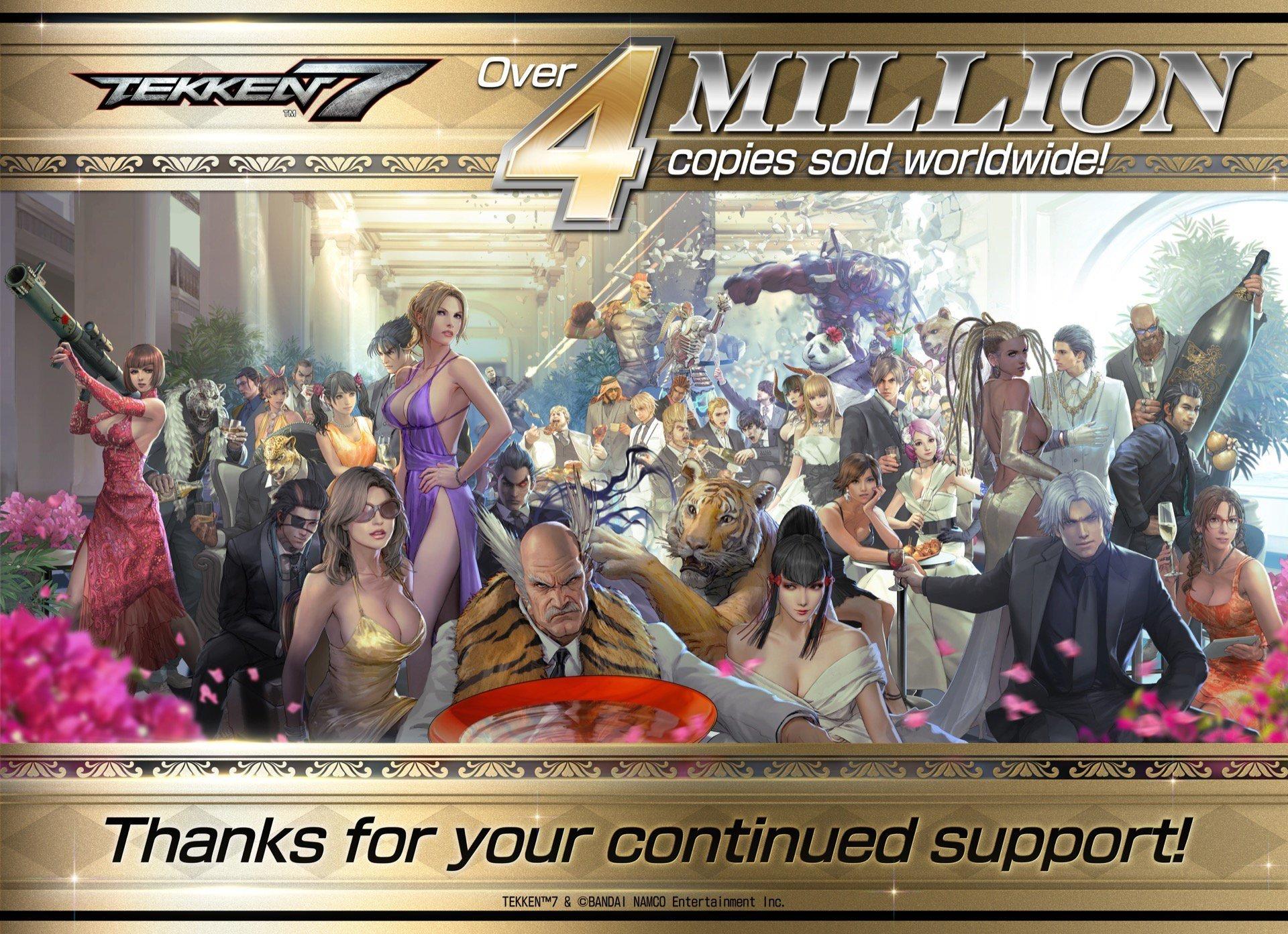 Tekken 7 Hits 4 Million Sales Vgc