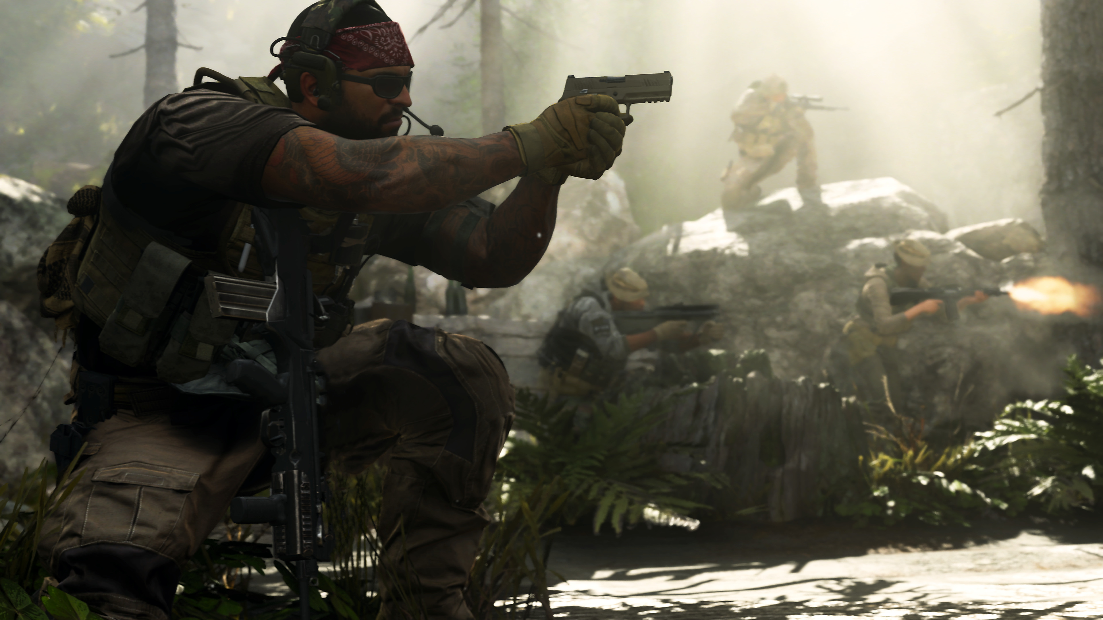 Modern Warfare supports 100 players – but battle royale isn