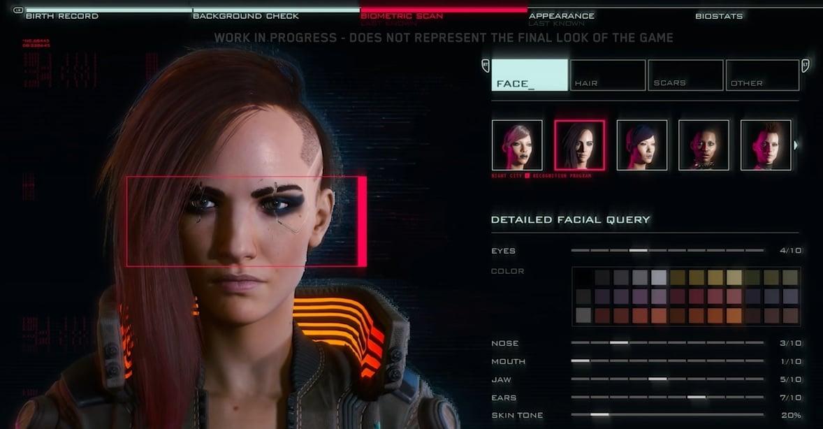 Cyberpunk 2077 Mahdollistaa Kolmenlaiset Nännit Omalle Pelihahmolle