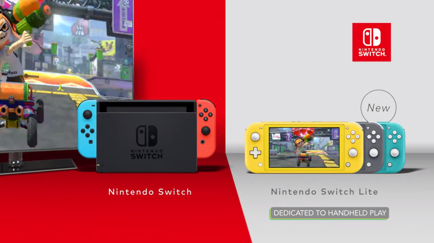 Nintendo positions Switch Lite as companion console in new