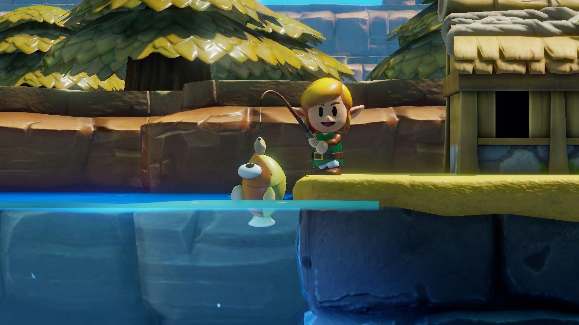 The Legend Of Zelda Link S Awakening Review Appears In