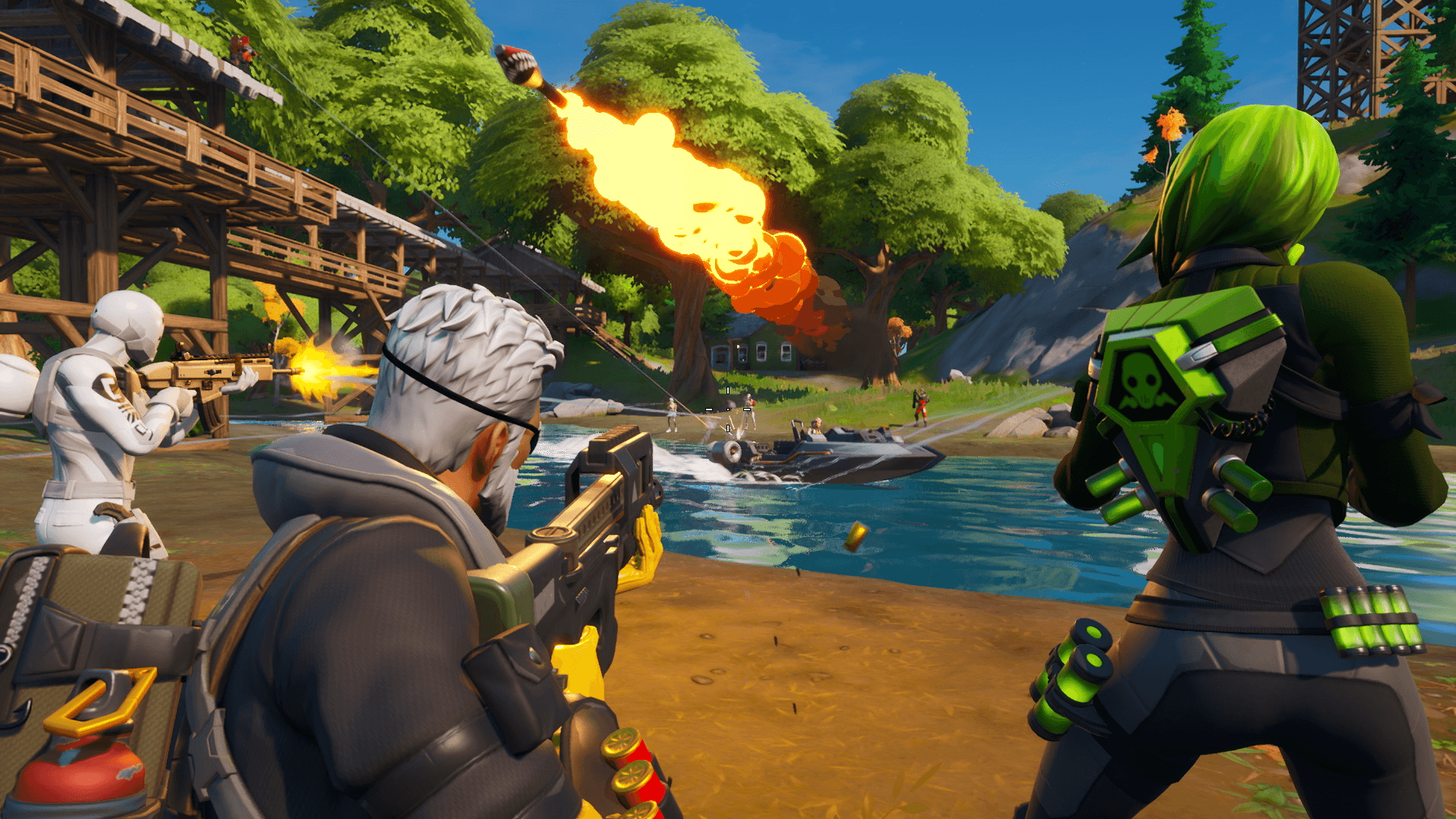 Fortnite launches 'Chapter 2' after Call of Duty challenge