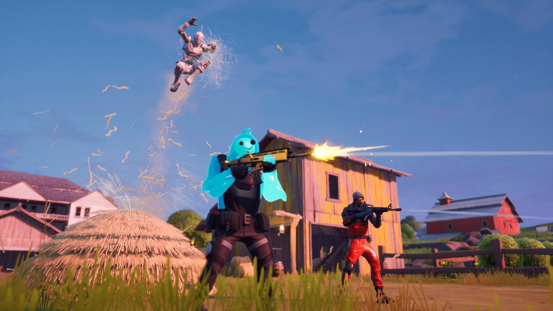 Your first Fortnite Chapter 2 win was probably against bots