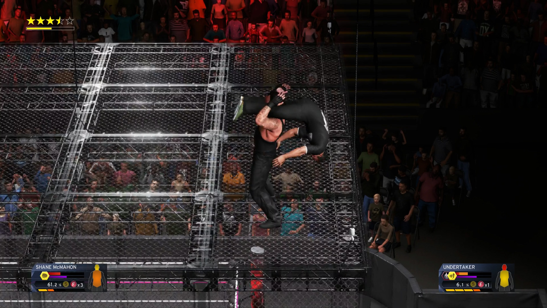 WWE 2K20 Rings in the New Year With a Y2K Bug