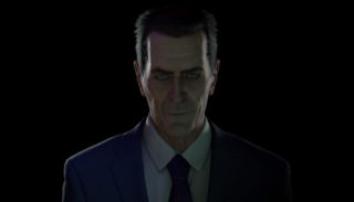 Half-Life's G-Man appears in New Year video