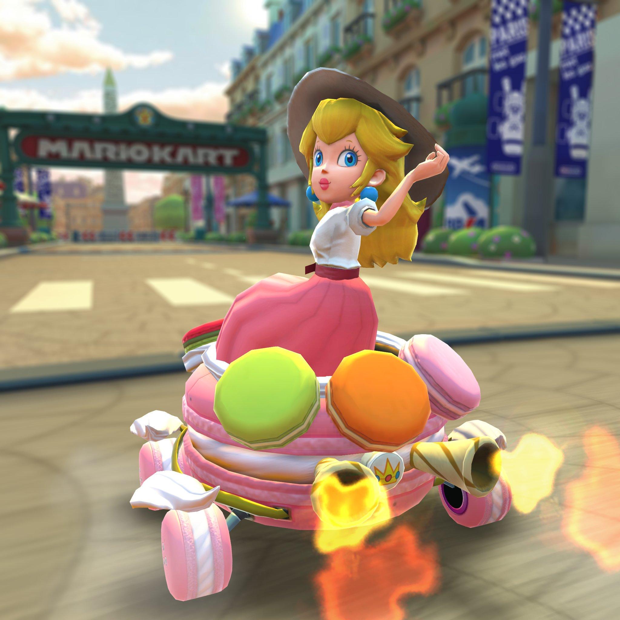 Mario Kart Tour S Next Event Is The Paris Tour Vgc