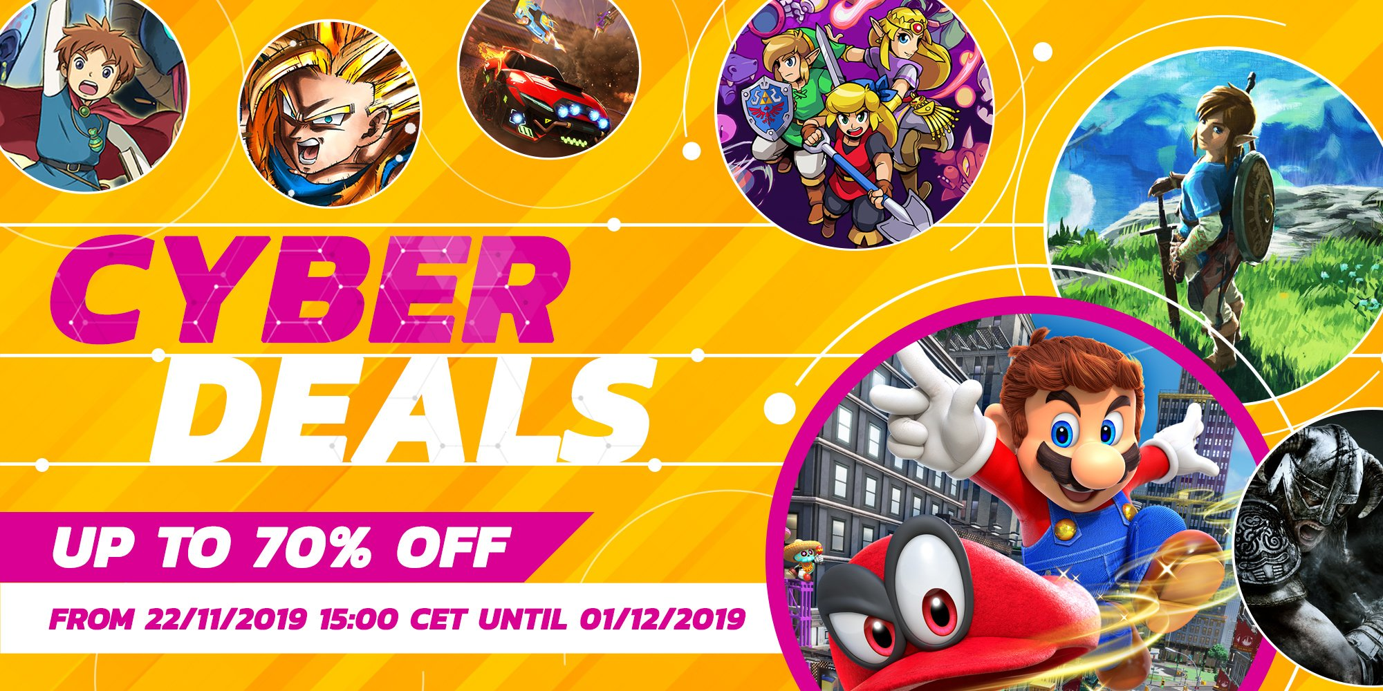 Nintendo Switch Black Friday Sale Announced For European Eshop Vgc