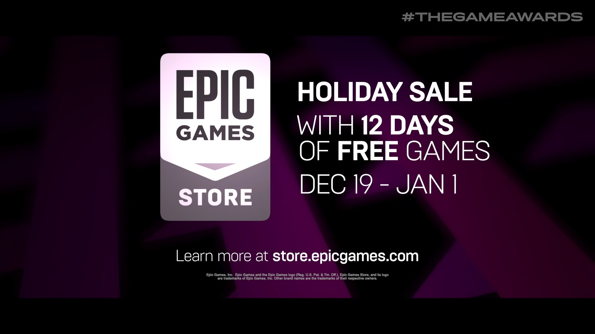 Epic Games Store to give away 12 free