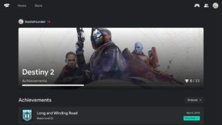 Stadia launches 'first version' of achievements system