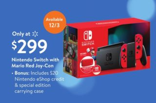 Walmart To Exclusively Sell New Mario Red Switch Bundle In