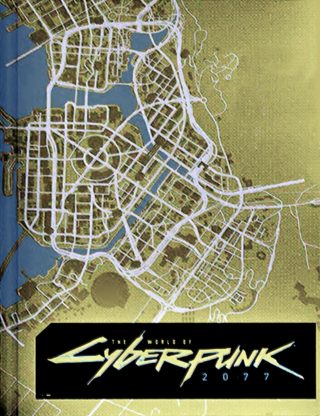 First Cyberpunk 2077 world map image appears online | VGC