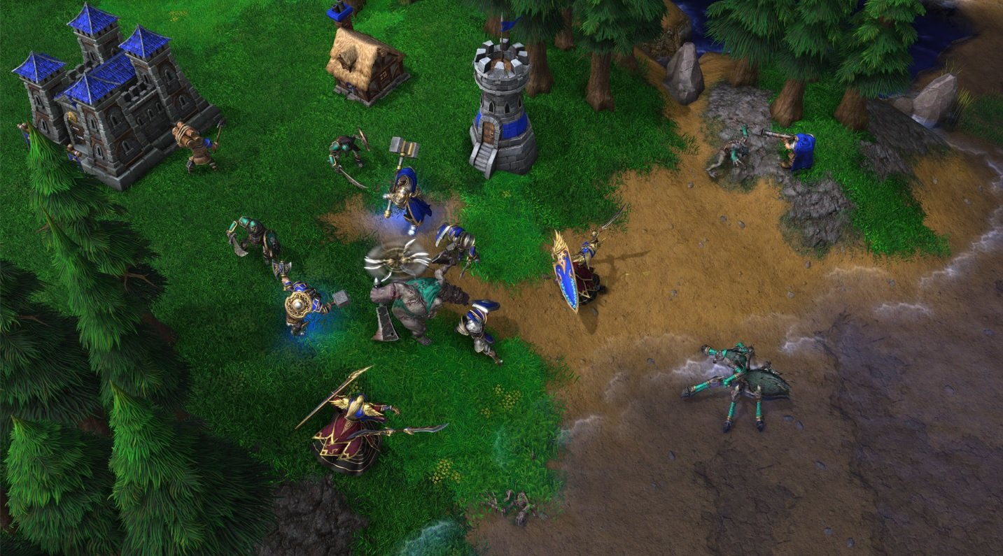 Warcraft 3 Reforged Criticised For Cutscene And Visual Changes Vgc