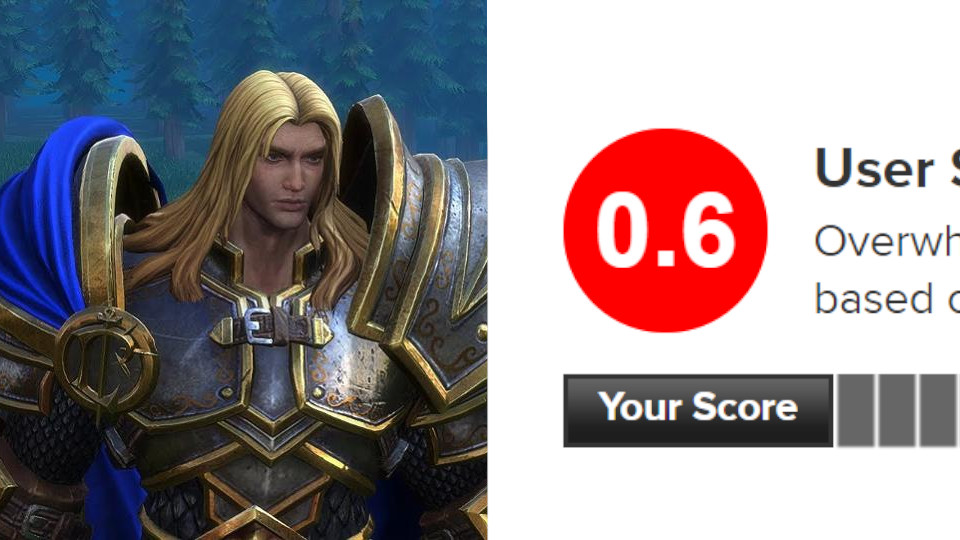 Warcraft 3 Reforged Is Now The Worst User Scored Game Ever On Metacritic Vgc