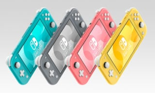 Coral coloured Switch Lite announced for Japan