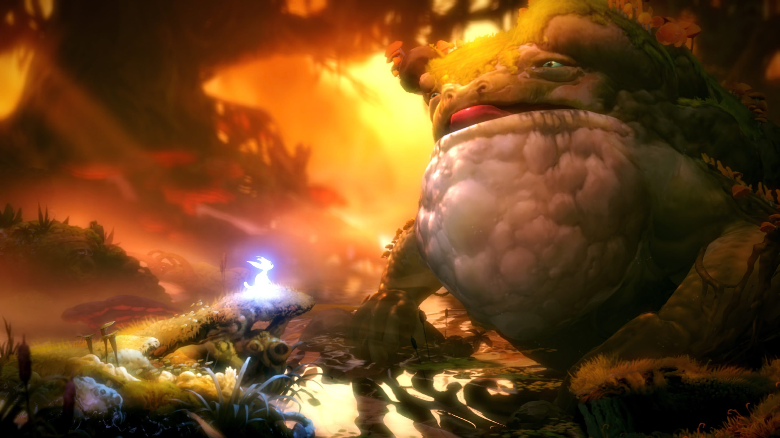 Review Ori And The Will Of The Wisps Is A Breathtaking Metroidvania