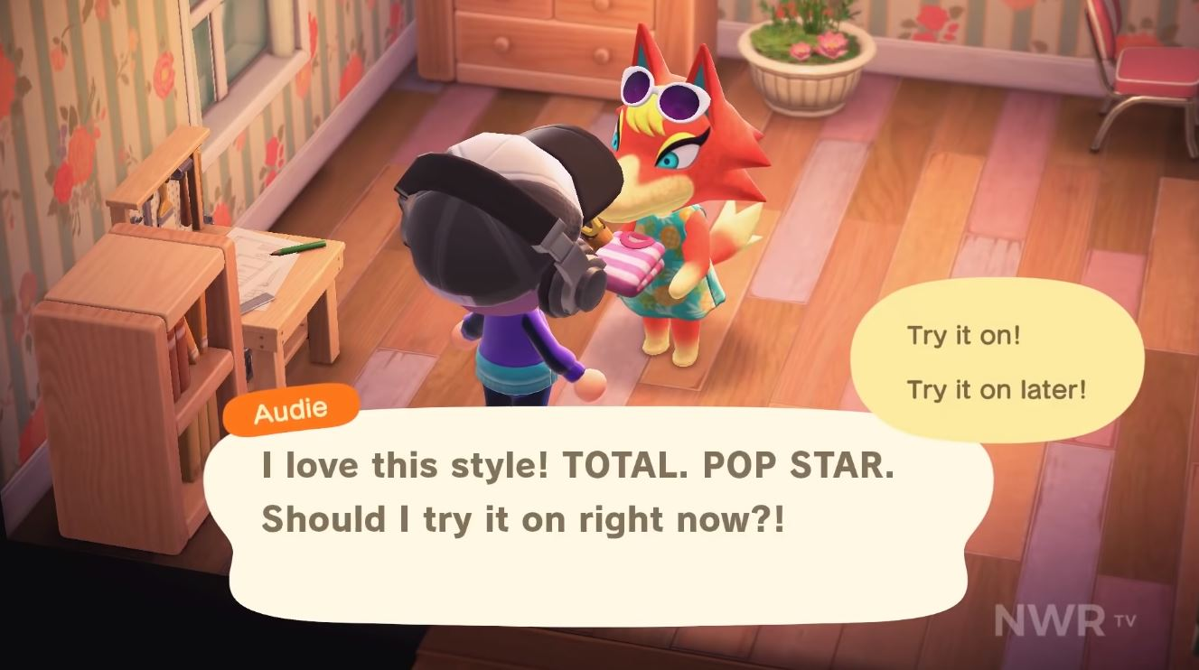 Grandson Choked Up When He Saw His Grandmother In New Animal Crossing Vgc