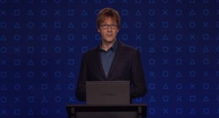 Mark Cerny during a PS5 reveal.