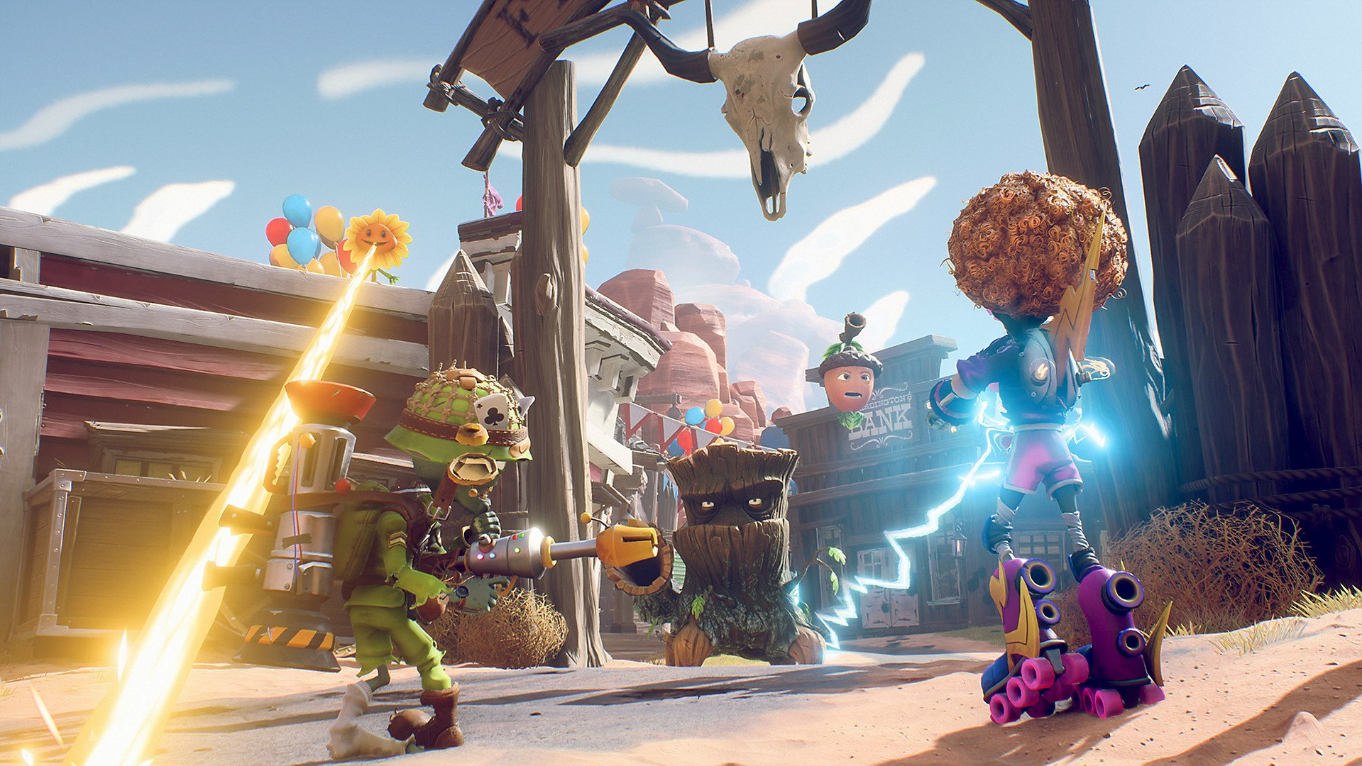 Plants Vs Zombies Battle For Neighborville Joins Ea And Origin