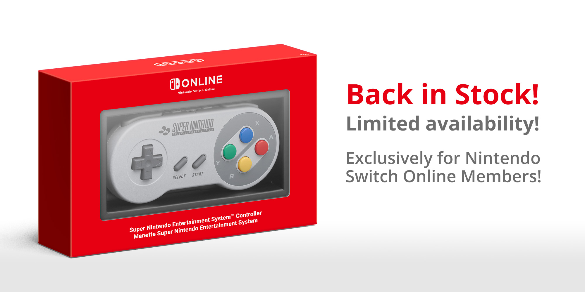 Switch Snes Controllers Are Back On Sale In Europe Vgc