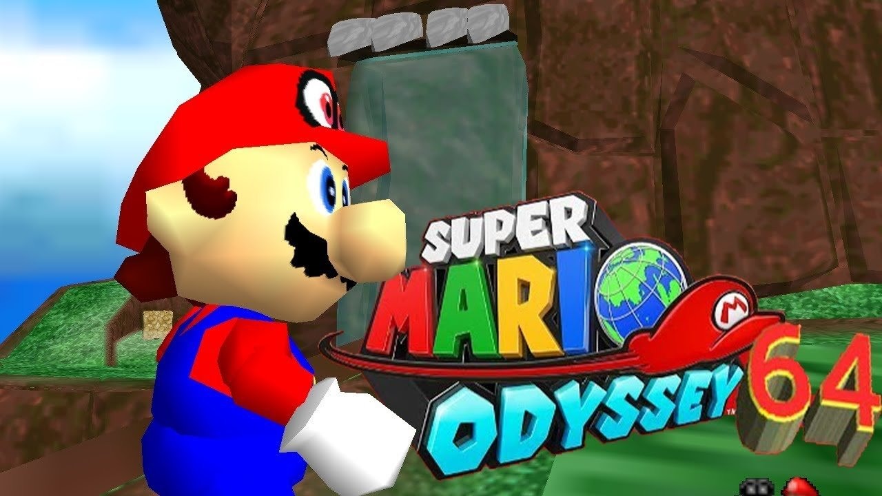 Modder Releases Super Mario Odyssey Recreated In Mario 64 Vgc