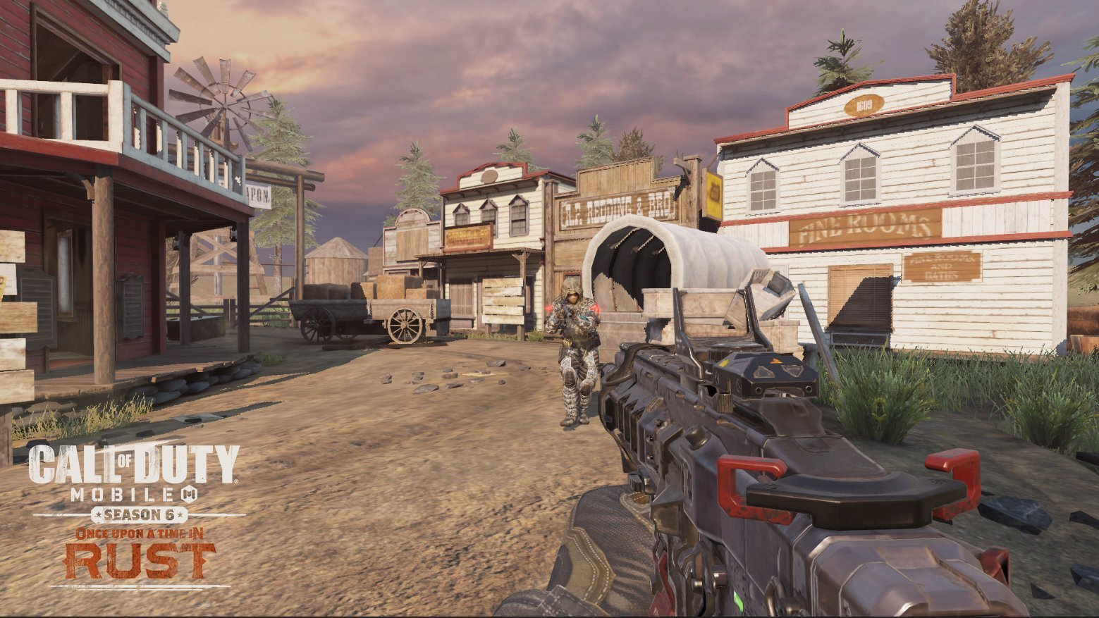 Call Of Duty Mobile Season 6 Launches With Rust And Saloon Maps Vgc