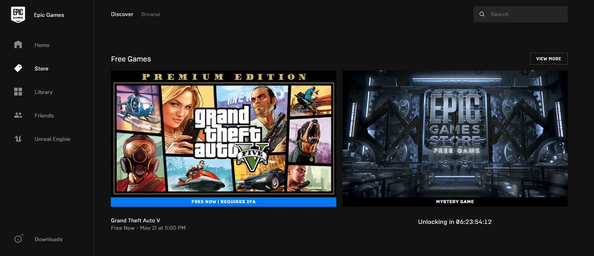Free Grand Theft Auto V Offer Crashes Epic Games Store Vgc