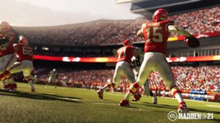 Madden NFL 21 is an American football game developed by EA Sports and published by Electronic Arts