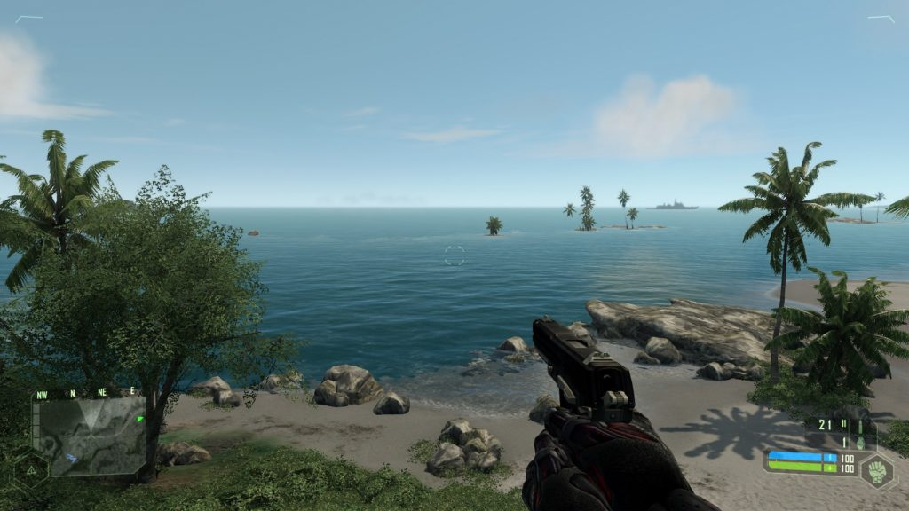 Crysis Remastered and original compared in pictures 3