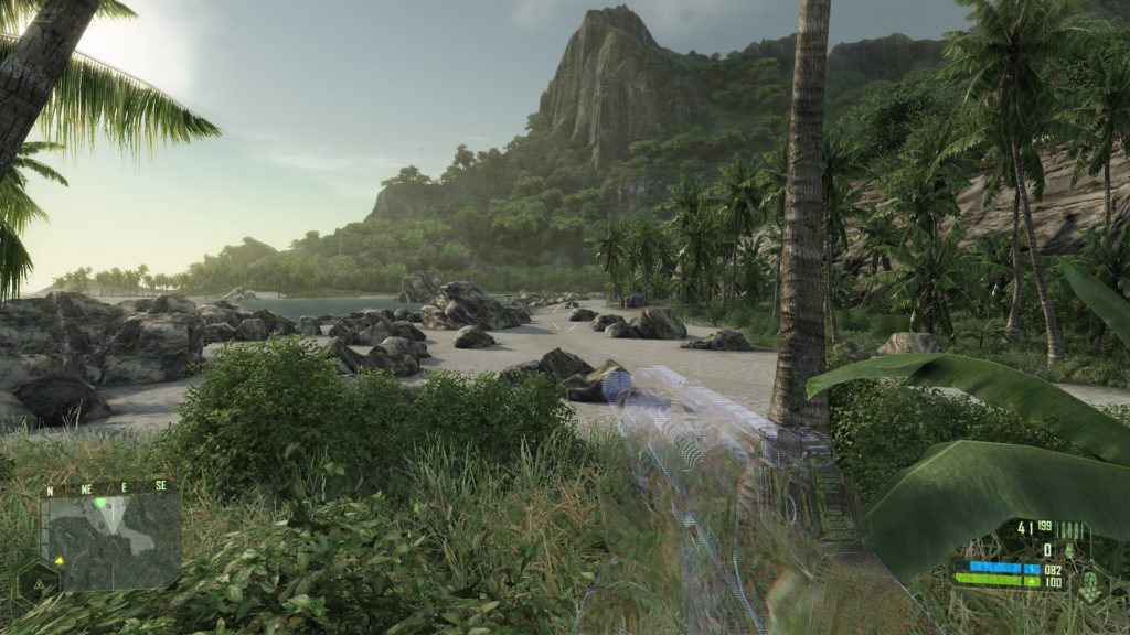 Crysis Remastered and original compared in pictures 1