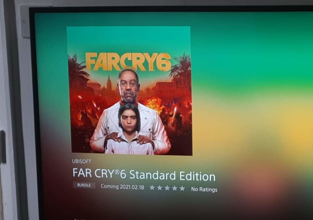Far Cry 6 Has Leaked On The Playstation Store Vgc