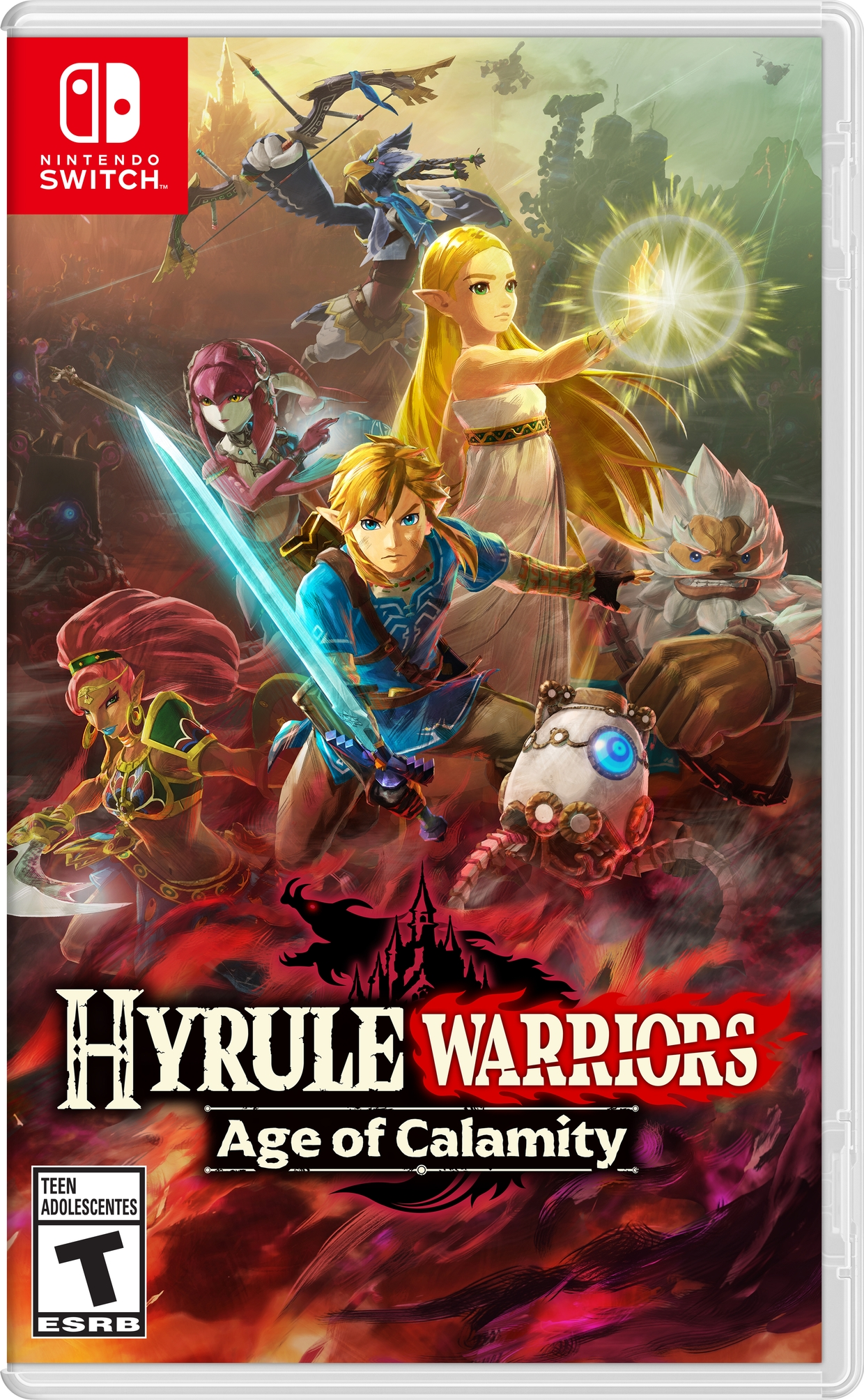 Breath Of The Wild Prequel Hyrule Warriors Age Of Calamity Is Coming To Nintendo Switch In November Vgc