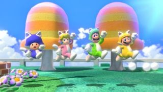 Mario 3D World's Japanese launch beat both 3D All-Stars and the Wii U original