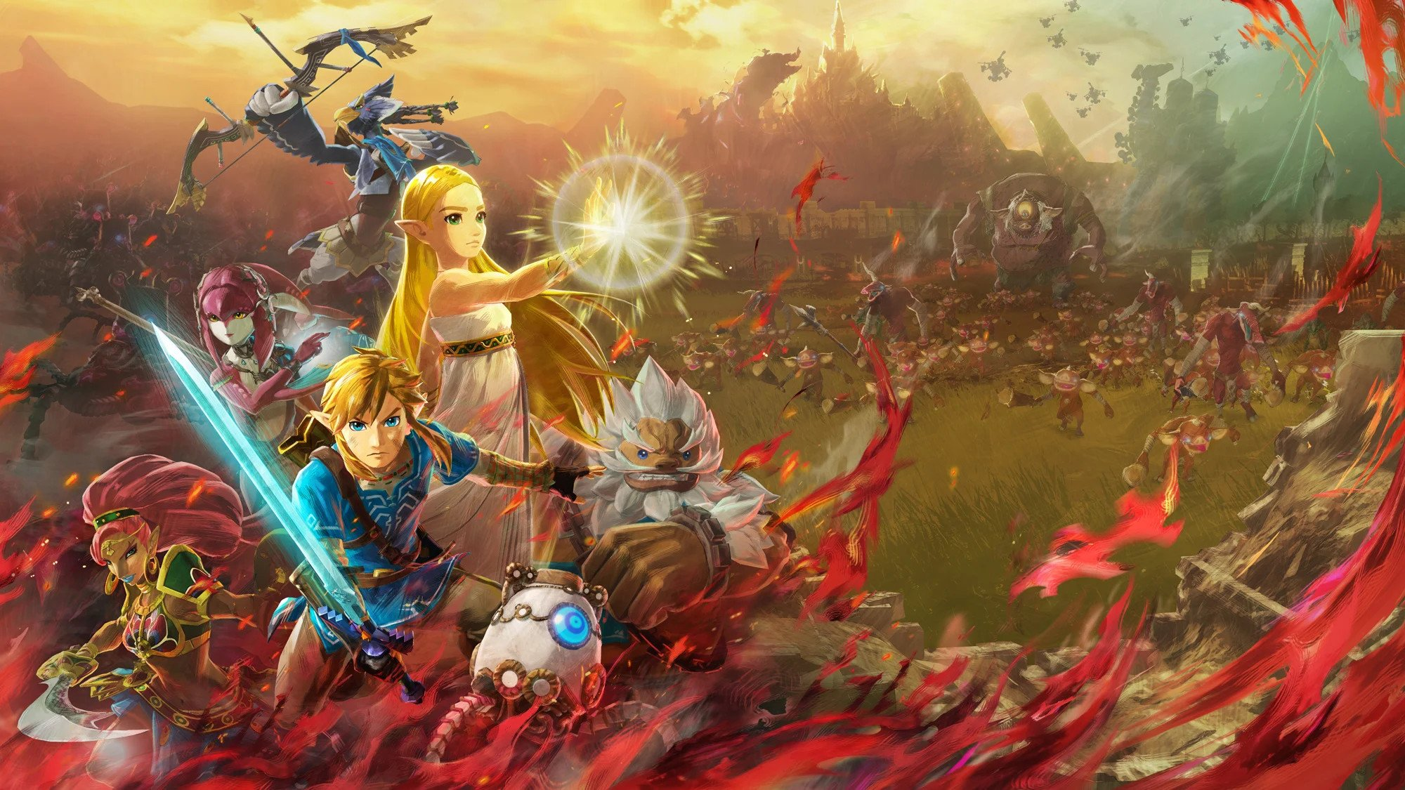 Famitsu S Hyrule Warriors Age Of Calamity Review Says It S One Of 2020 S Best Switch Games Vgc