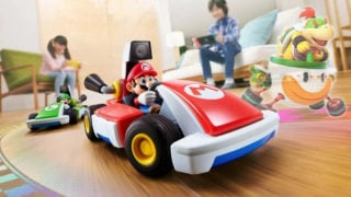 Mario Kart Live's developer says its toy kart 'is basically a mini-console on wheels'