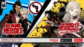 No More Heroes 1 & 2 are out now for Nintendo Switch