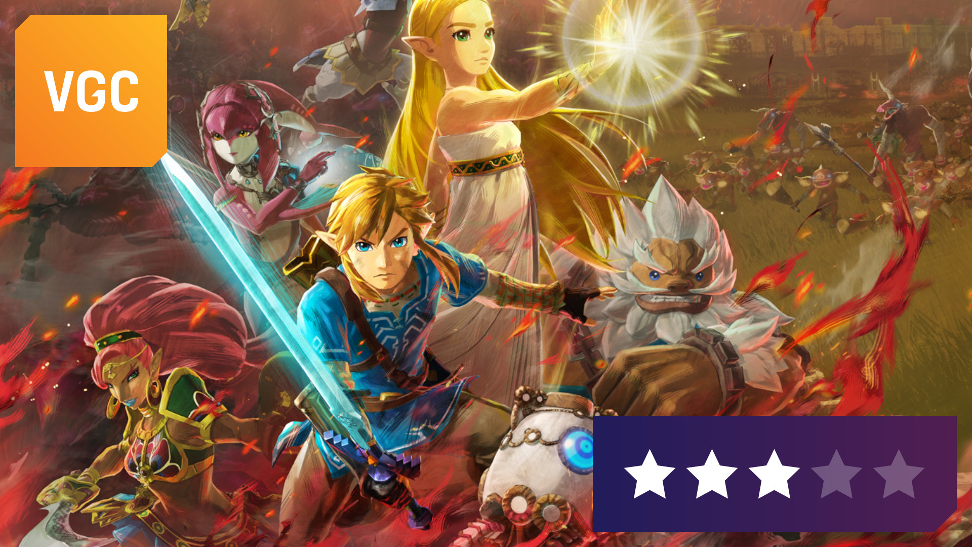 Review Hyrule Warriors Age Of Calamity Is An Uneven Zelda Love Letter