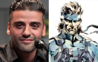 Oscar Isaac will reportedly play Solid Snake in the Metal Gear Solid movie