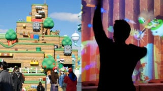 Nintendo's theme park is open for business… and it has a Kinect-style attraction