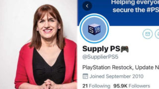 An NHS executive had her Twitter accounts stolen by PS5 scammers