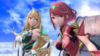 Pyra and Mythra will release for Smash Bros. Ultimate today
