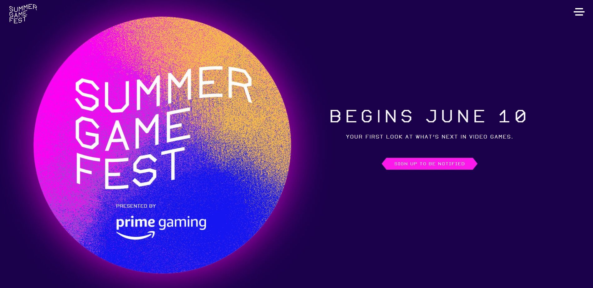 Summer Game Fest confirms June 10 showcase ahead of E3