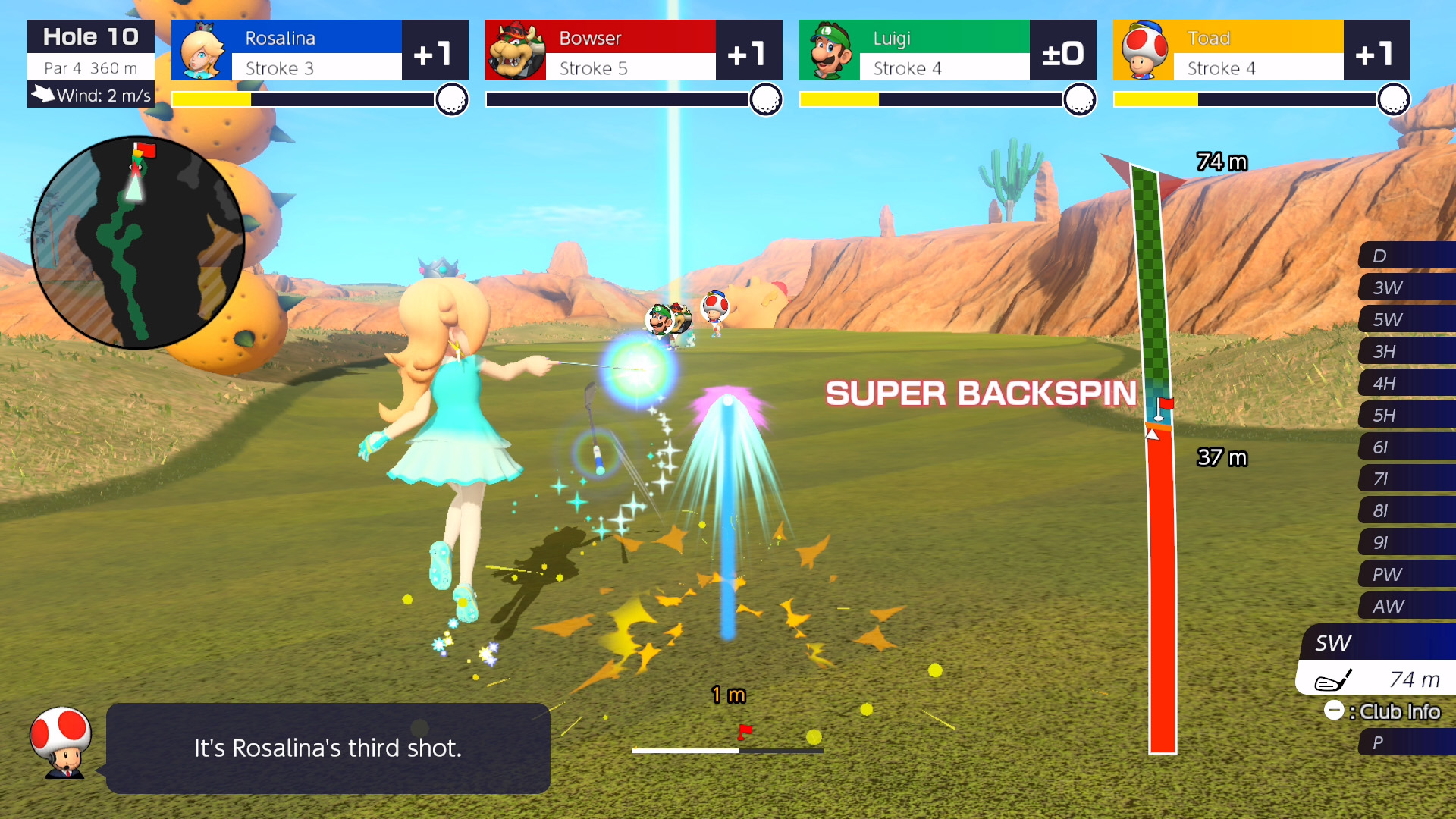 download mario golf super rush on android